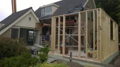 uitbouw noordwijkerhout modiwood gevel