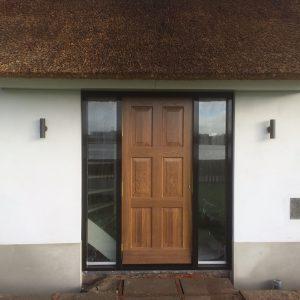 Eiken houten voordeur