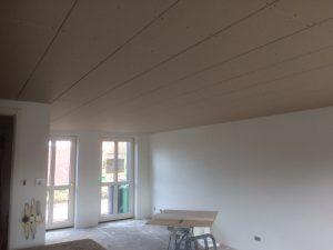 Verlaagd plafond stucplaten