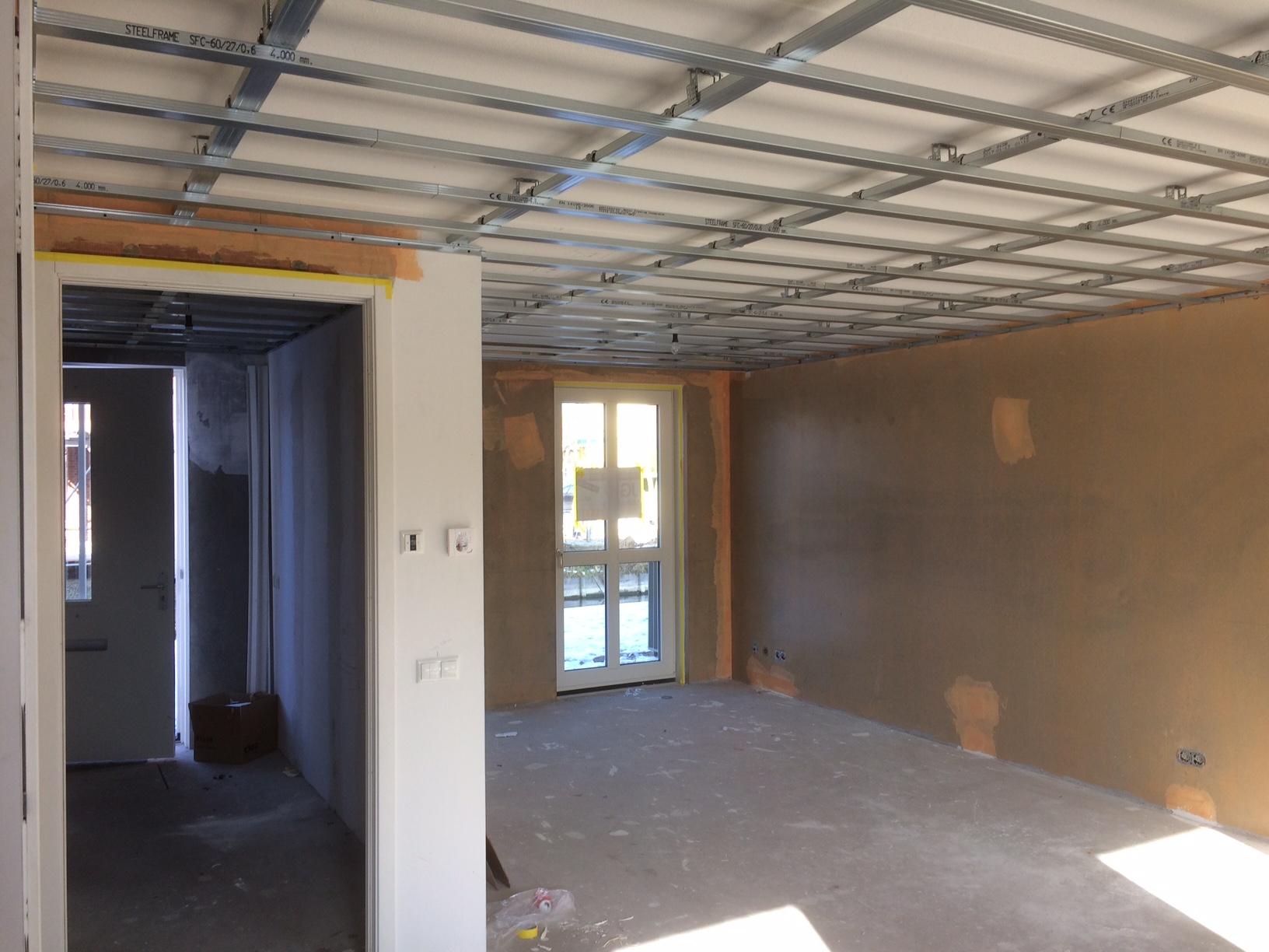 plafond verlagen cheap badkamer plafond met spotjes